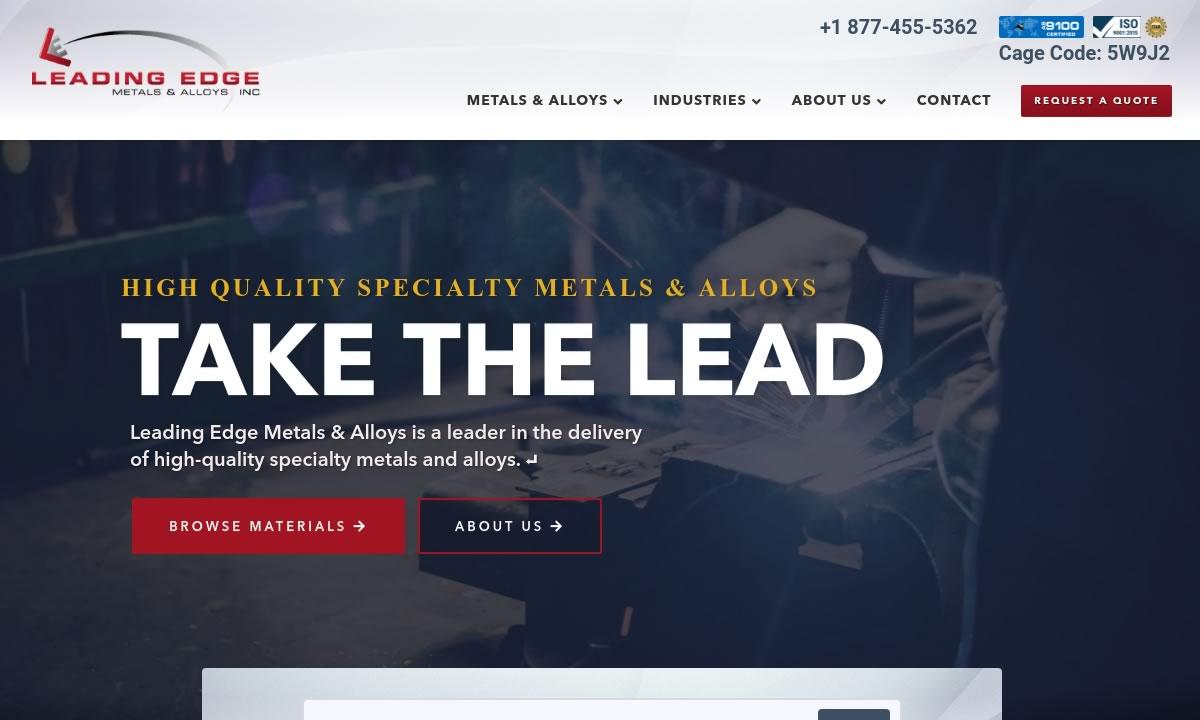 Leading Edge Metals & Alloys, LLC