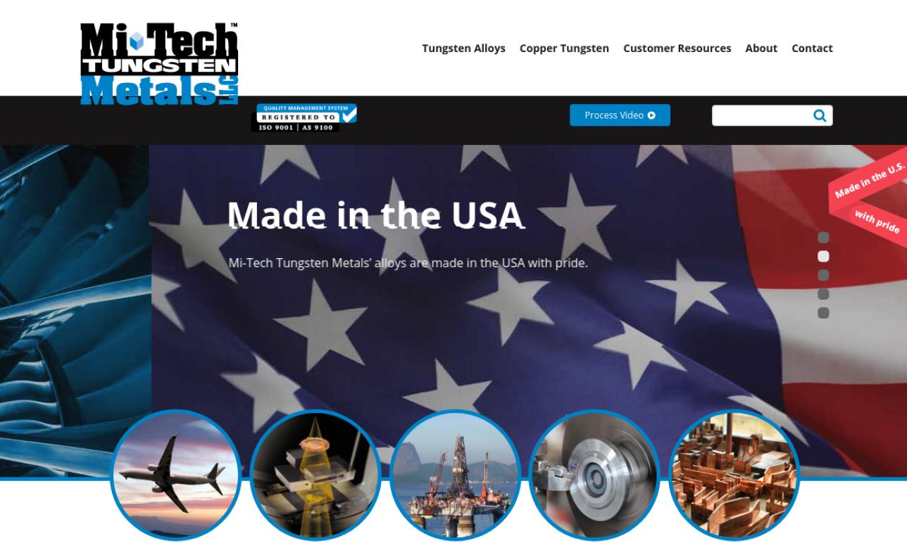 Mi-Tech Tungsten Metals, LLC