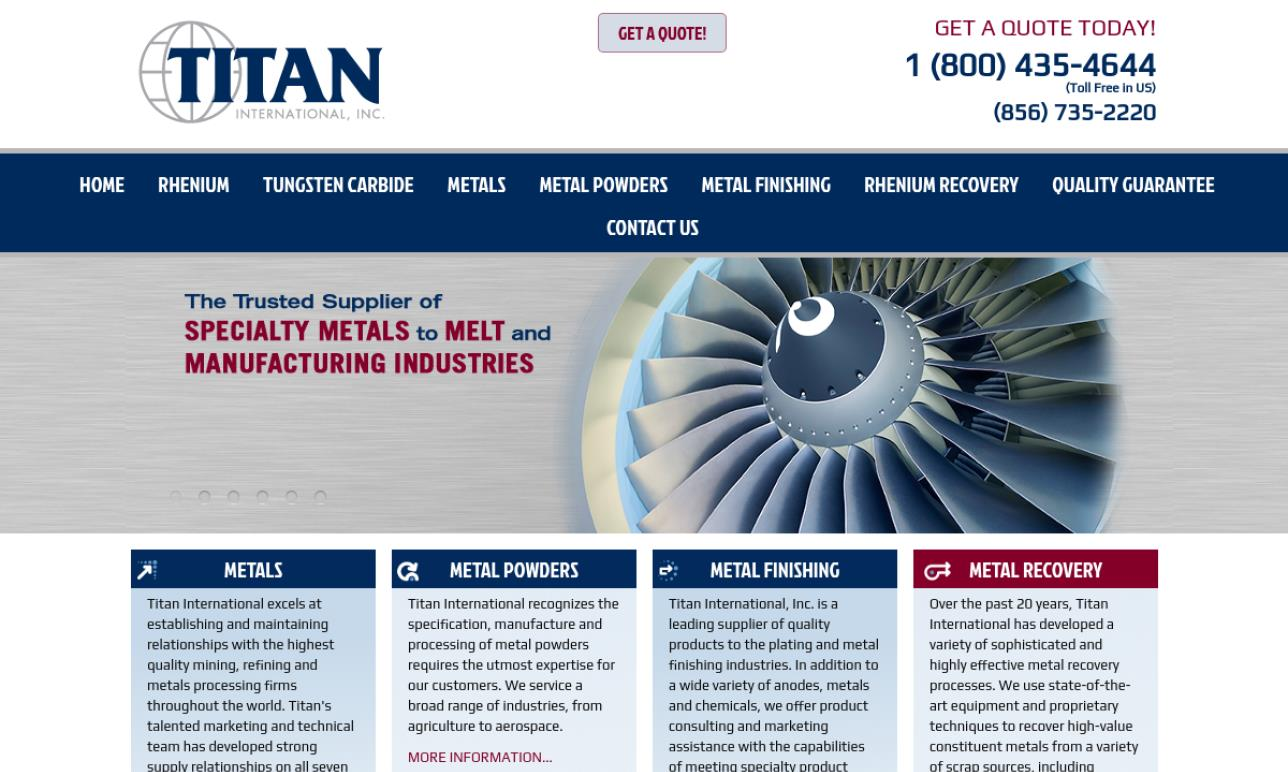 Titan International, Inc.