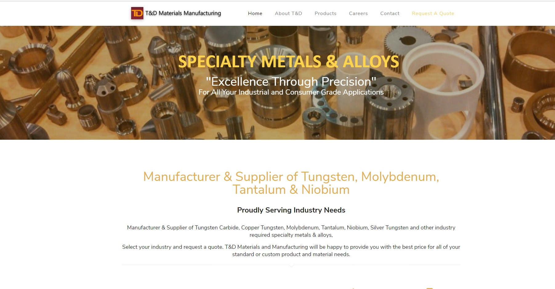 T&D Materials Manufacturing